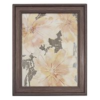 New View Flower Print Framed Wall Art
