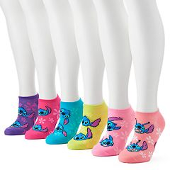 Disney's Lilo & Stitch Women's 6 pkNo-Show Socks