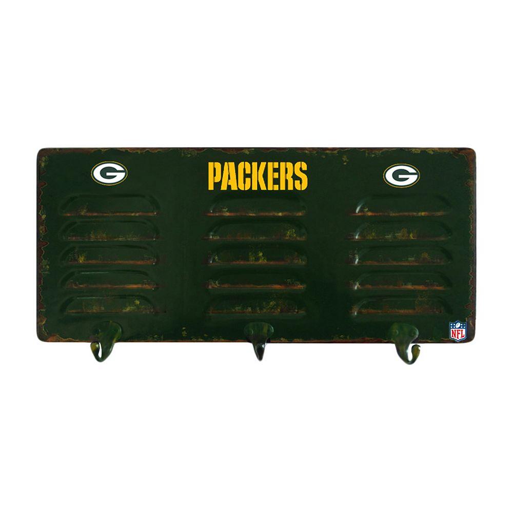 Green Bay Packers Locker Coat Rack