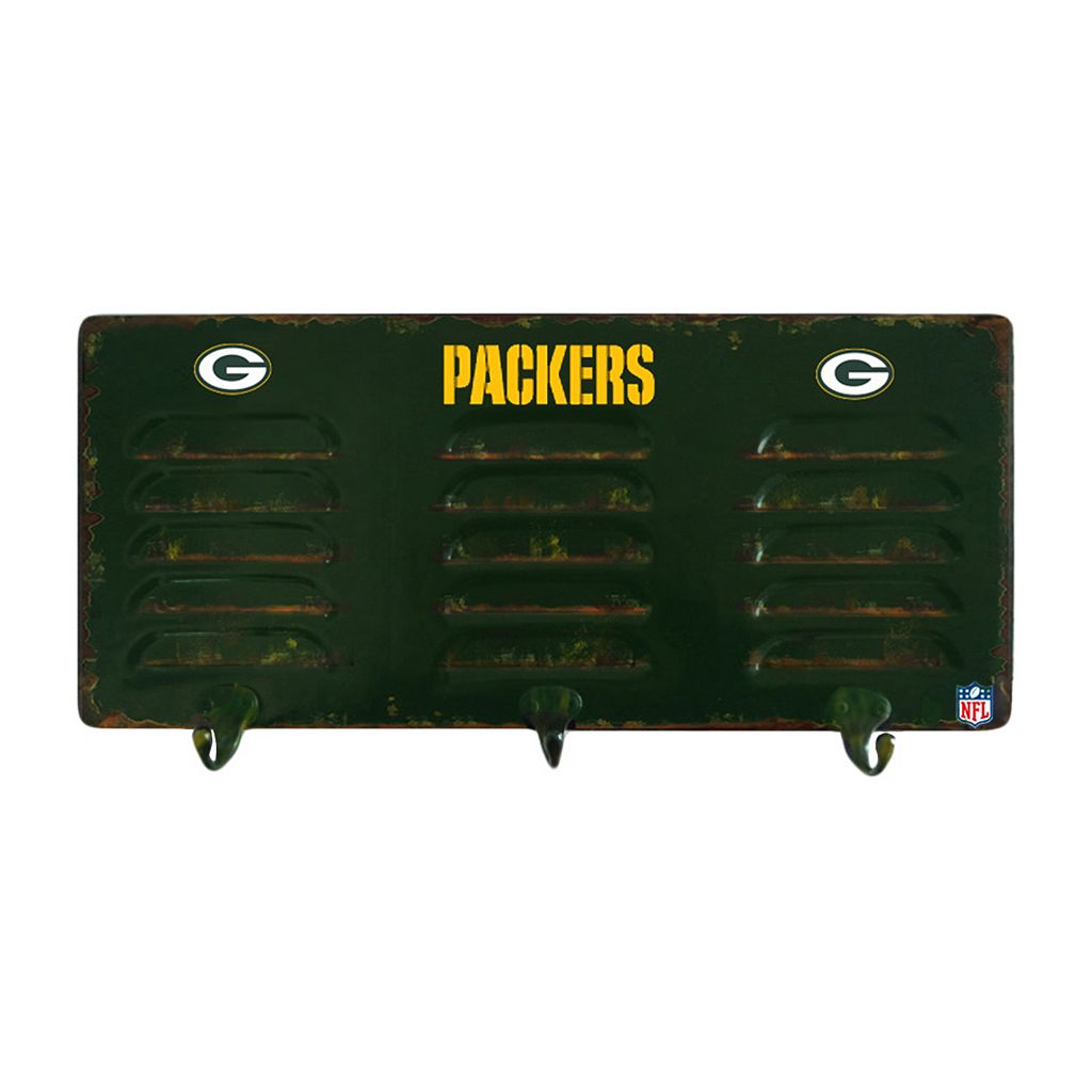 Green Bay Packers Locker Coat Rack