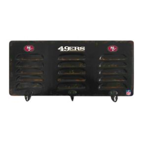 San Francisco 49ers Locker Coat Rack