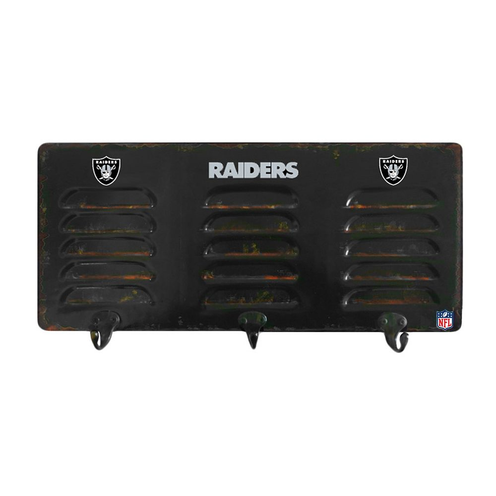 Oakland Raiders Locker Coat Rack