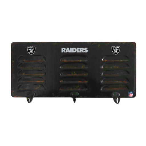 Oakland Raiders Locker Coat Rack