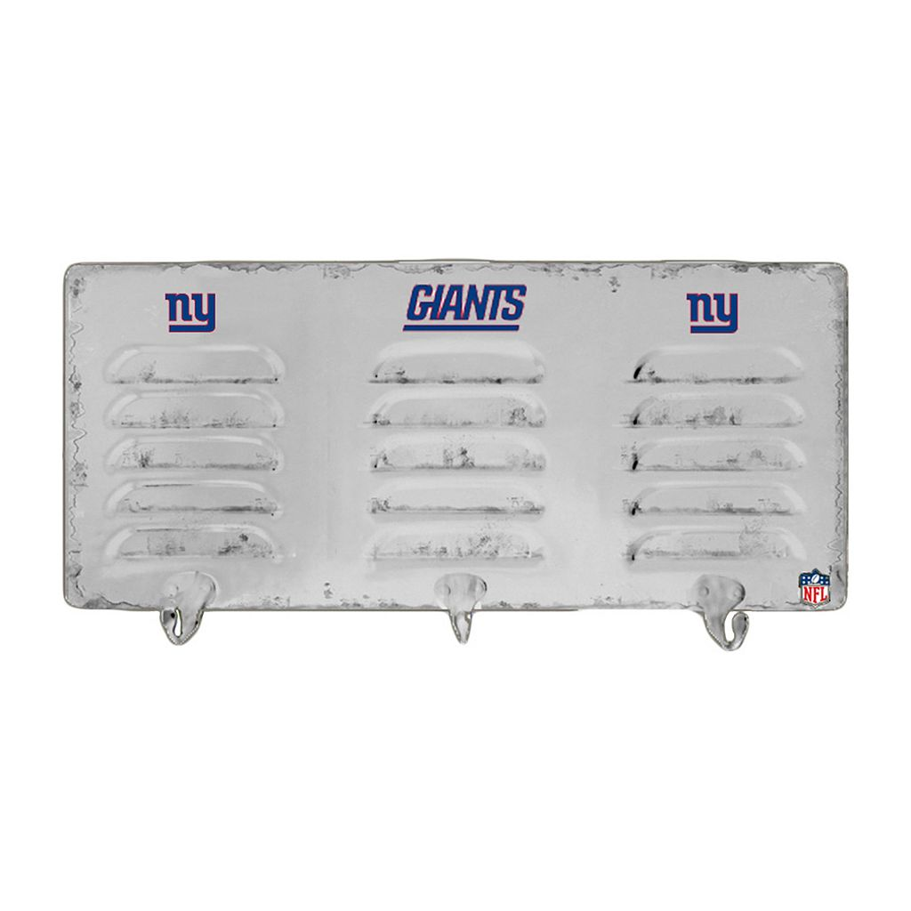 New York Giants Locker Coat Rack