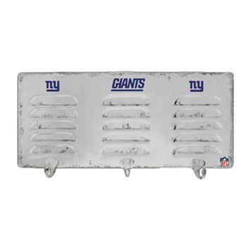 New York Giants Locker Coat Rack