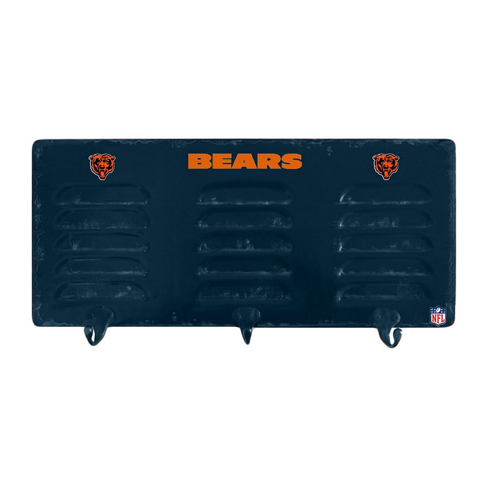 Chicago Bears Locker Coat Rack