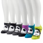 Women's 6-pk. Tim Burton's The Nightmare Before Christmas No-Show Socks
