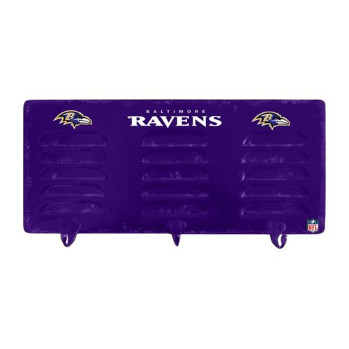 Baltimore Ravens Locker Coat Rack