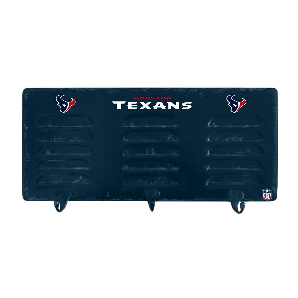 Houston Texans Locker Coat Rack