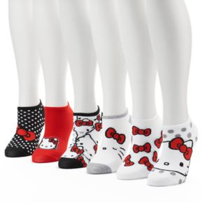 Women's 6-pk. Hello Kitty® No-Show Socks