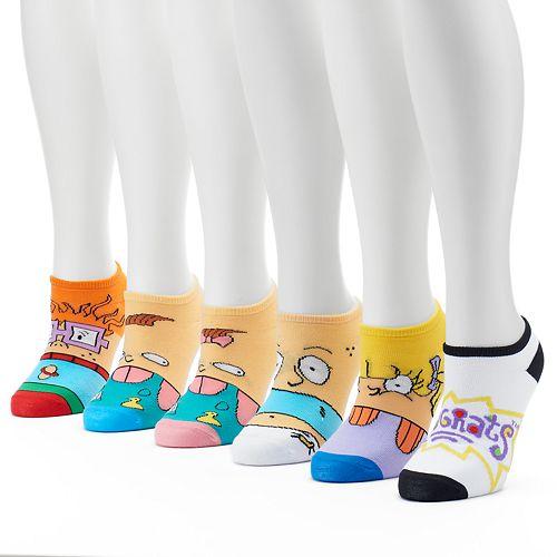 1ff6f06dc Women s 6-pk. Nickelodeon Rugrats No-Show Socks