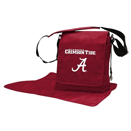 Alabama Crimson Tide Lil' Fan Diaper Messenger Bag