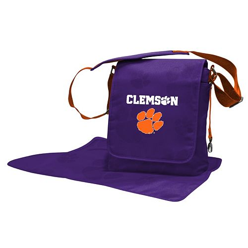 Clemson Tigers Lil' Fan Diaper Messenger Bag