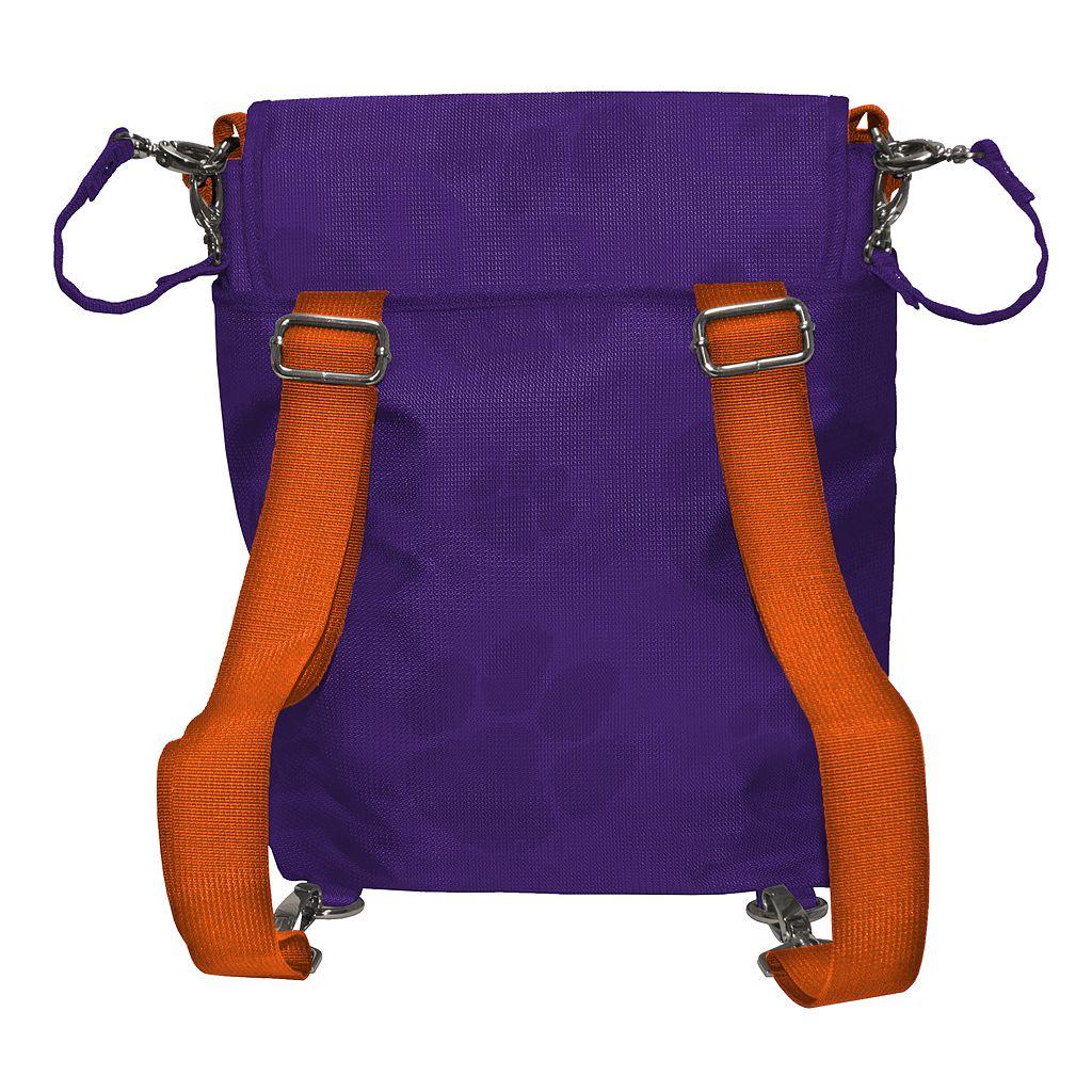 Clemson Tigers Lil' Fan Diaper Messenger Bag