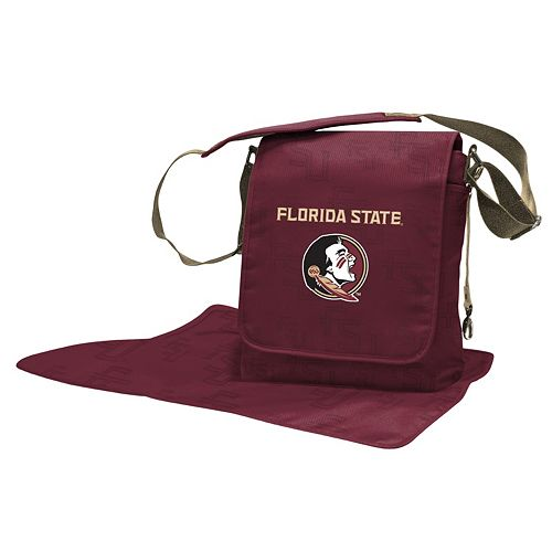 Florida State Seminoles Lil' Fan Diaper Messenger Bag