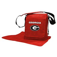 Georgia Bulldogs Lil' Fan Diaper Messenger Bag