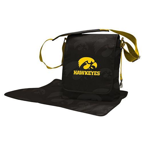 Iowa Hawkeyes Lil' Fan Diaper Messenger Bag