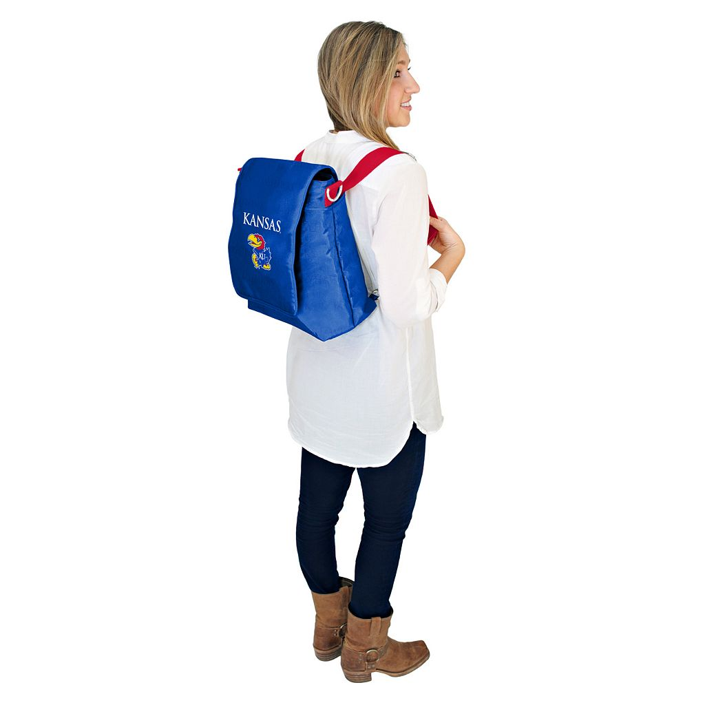 Kansas Jayhawks Lil' Fan Diaper Messenger Bag