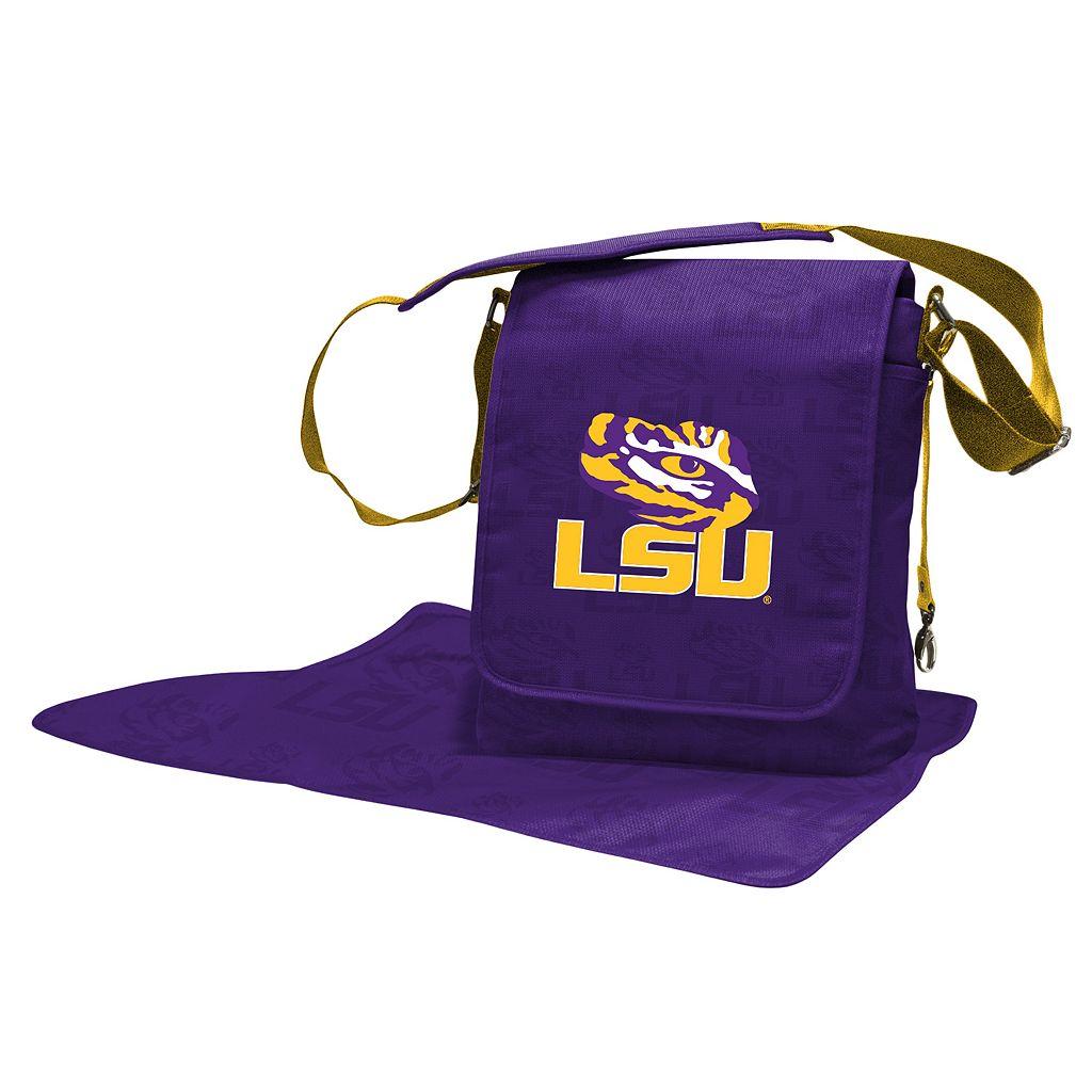 LSU Tigers Lil' Fan Diaper Messenger Bag