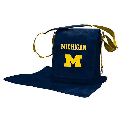 Michigan Wolverines Lil' Fan Diaper Messenger Bag