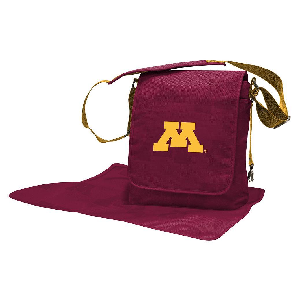Minnesota Golden Gophers Lil' Fan Diaper Messenger Bag
