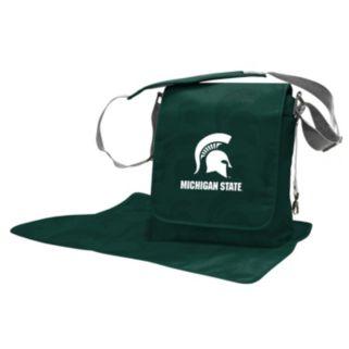 Michigan State Spartans Lil' Fan Diaper Messenger Bag