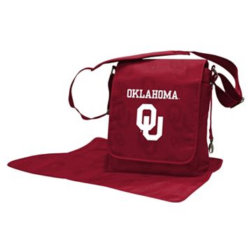Oklahoma Sooners Lil' Fan Diaper Messenger Bag