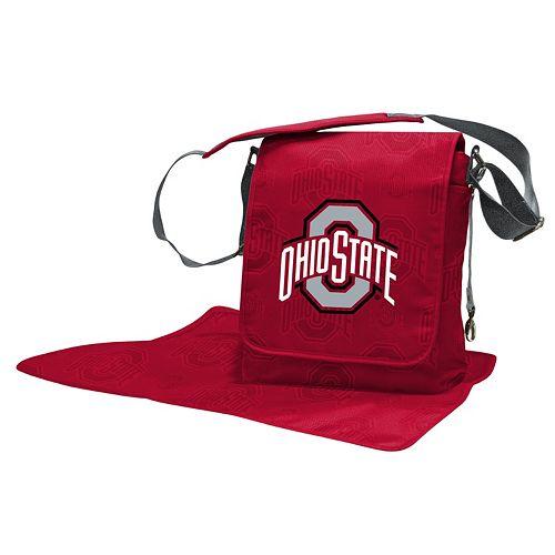 Ohio State Buckeyes Lil' Fan Diaper Messenger Bag