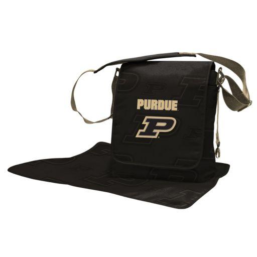 Purdue Boilermakers Lil' Fan Diaper Messenger Bag