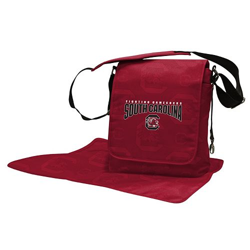 South Carolina Gamecocks Lil' Fan Diaper Messenger Bag