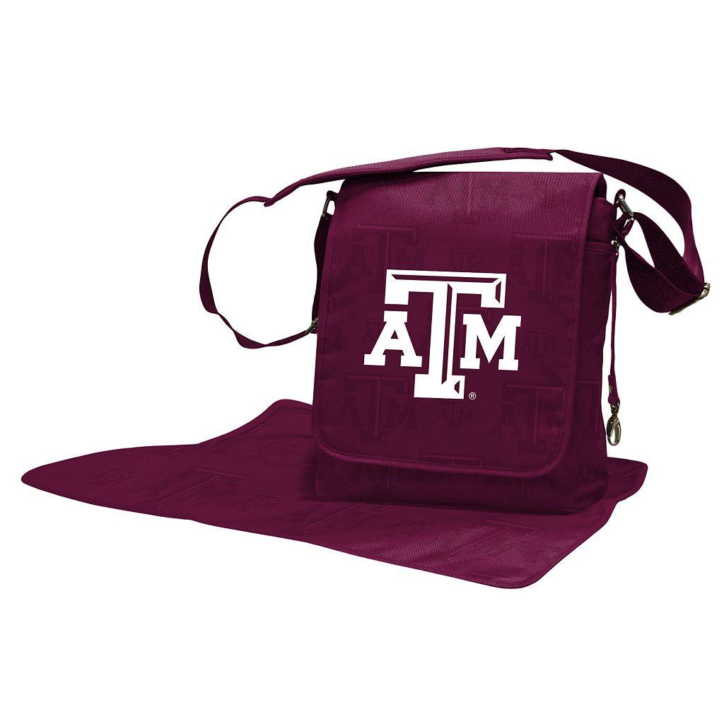 Texas A&M Aggies Lil' Fan Diaper Messenger Bag