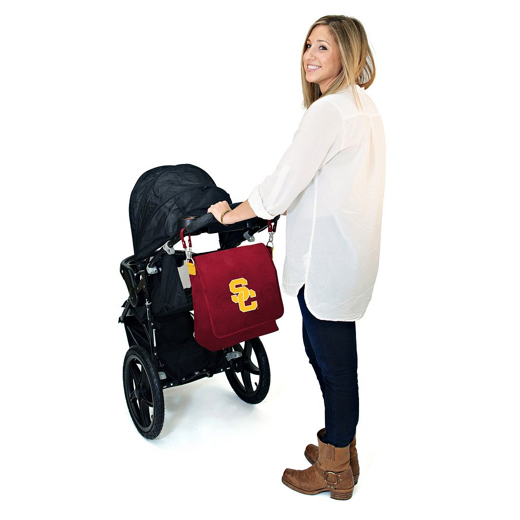 USC Trojans Lil' Fan Diaper Messenger Bag