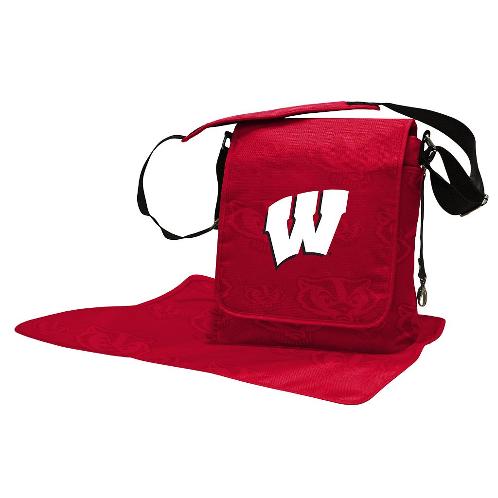 Wisconsin Badgers Lil' Fan Diaper Messenger Bag