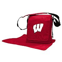 Wisconsin Badgers Lil' Fan Diaper Messenger Bag