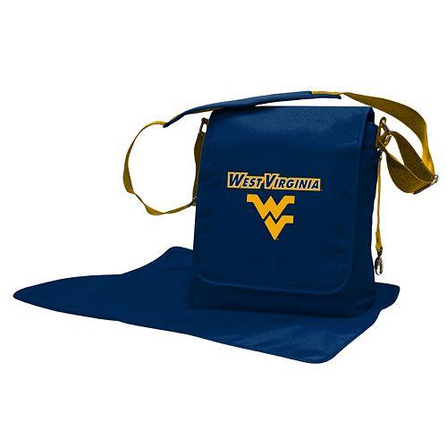 West Virginia Mountaineers Lil' Fan Diaper Messenger Bag