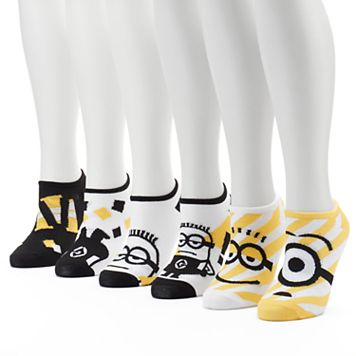 Women's 6-pk. Despicable Me Minions No-Show Socks
