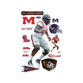 Ole Miss Rebels Laremy Tunsil Wall Decal by Fathead