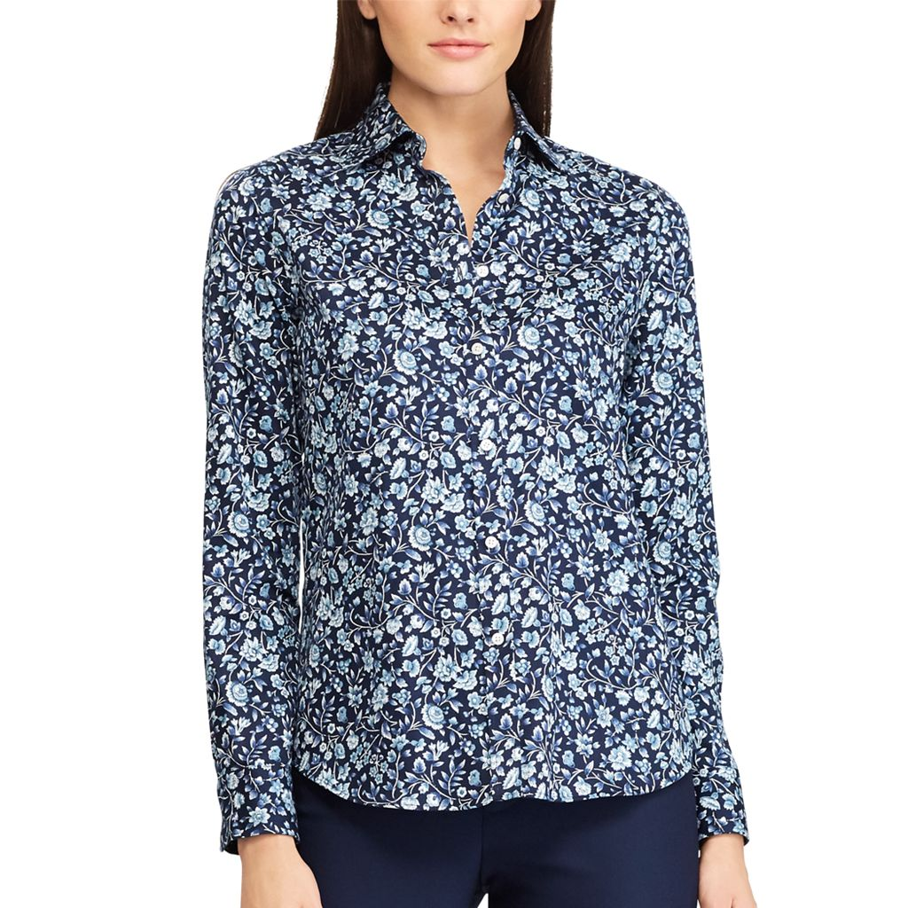 Women's Chaps Button-Down Shirt