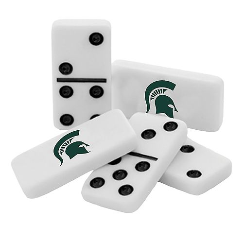 Michigan State Spartans College Edition Double-Six Domino Game