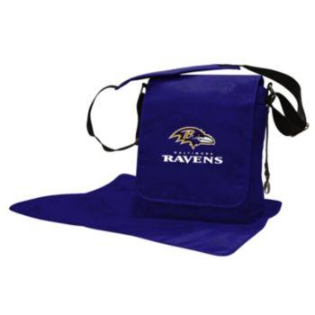 Baltimore Ravens Lil' Fan Diaper Messenger Bag