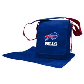 Buffalo Bills Lil' Fan Diaper Messenger Bag