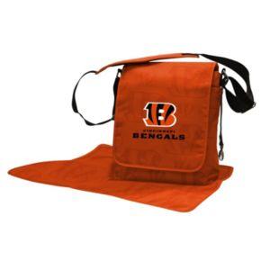 Cincinnati Bengals Lil' Fan Diaper Messenger Bag