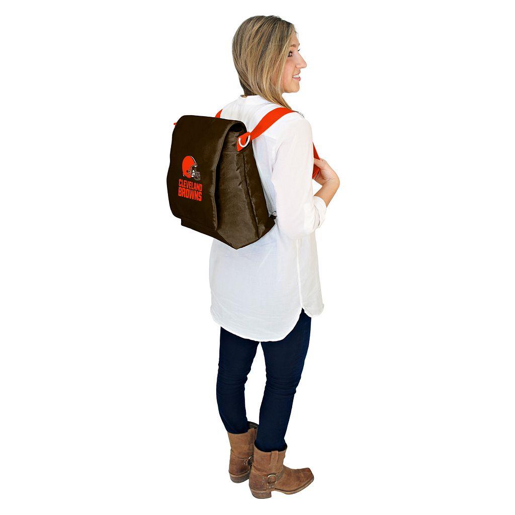 Cleveland Browns Lil' Fan Diaper Messenger Bag