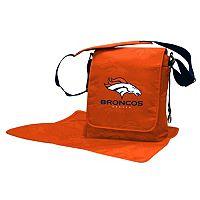Denver Broncos Lil' Fan Diaper Messenger Bag