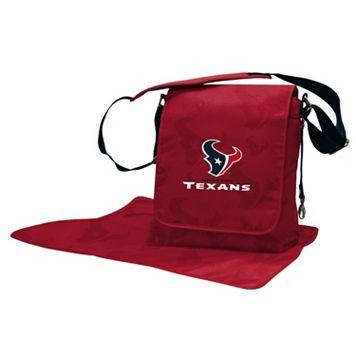 Houston Texans Lil' Fan Diaper Messenger Bag