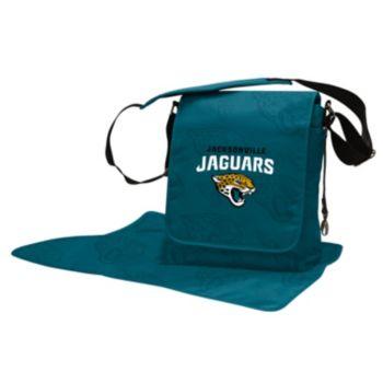 Jacksonville Jaguars Lil' Fan Diaper Messenger Bag