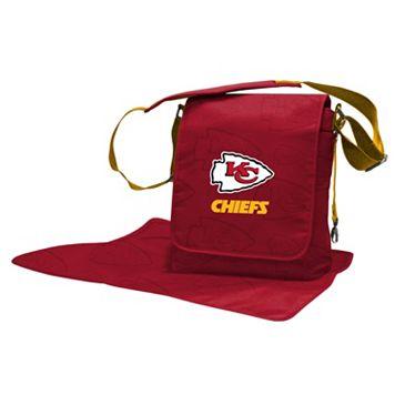 Kansas City Chiefs Lil' Fan Diaper Messenger Bag