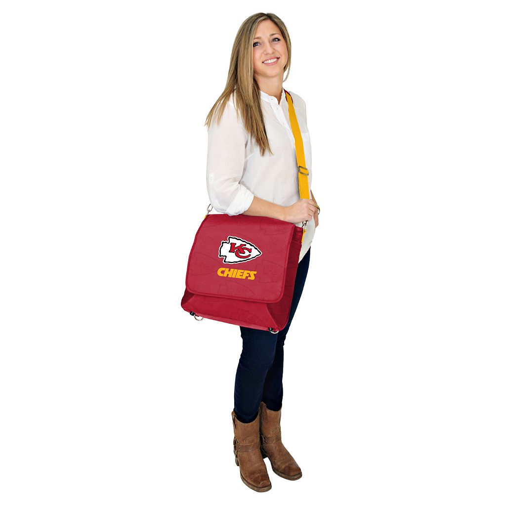 Kansas City Chiefs Lil' Fan Diaper Messenger Bag