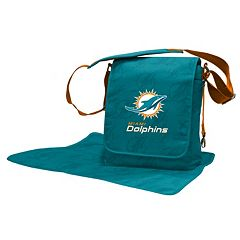 Miami Dolphins Lil' Fan Diaper Messenger Bag