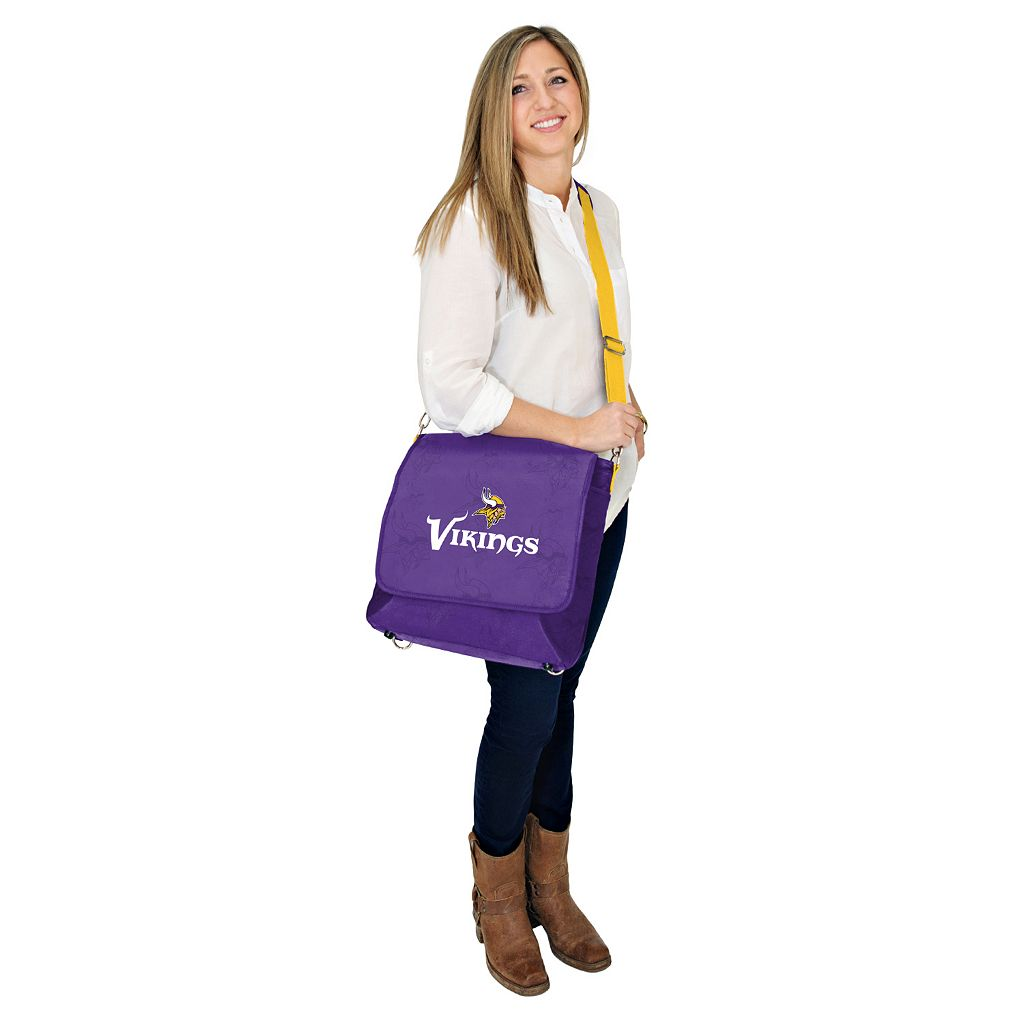 Minnesota Vikings Lil' Fan Diaper Messenger Bag